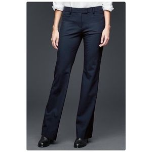 GAP Navy Blue Modern Boot Trousers